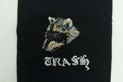 Hand-embroidered-Trash-raccoon-patch