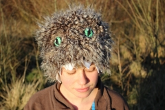 Upcycled-monster-hat-with-hand-embroidered-eyes