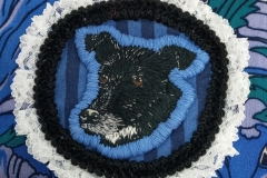 Hand-embroidered-upcycled-pet-patch-bag-details.