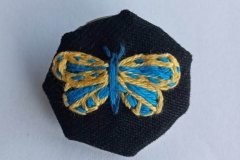Hand-embroidered-butterfly-brooch.