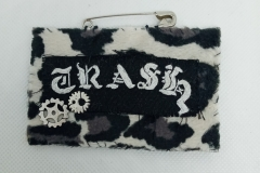 Hand-embroidered-upcycled-TRASH-brooch