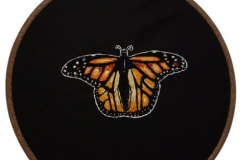 1_Hand-embroidered-Monarch-butterfly-hoop-10-inches