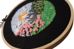 1_Hand-embroidered-mountian-scene-hoop.-5-inches.