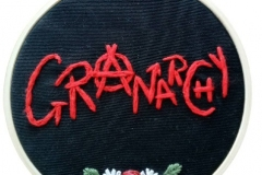 Hand-embroidered-Granarchy-hoop-4-inches