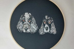 Hand-embroidered-pet-portait-hoop-8-inches