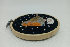 Hand-embroidered-robin-hoop-4-inches.