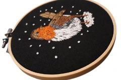 Hand-embroidered-robin-hoop-5-inches