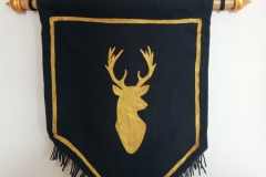 Hand-painted-upcycled-stag-si