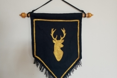 Hand-painted-upcycled-stag-sigil.