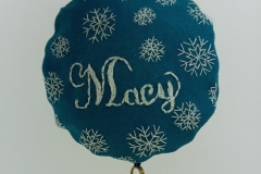 Hand-embroidered-upcycled-Christmas-decoration.