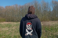 Hand-embroidered-upcycled-pirate-hoody.