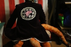 Hand-embroidered-velvet-upcycled-juggling-octopus-jacket.-Size-10