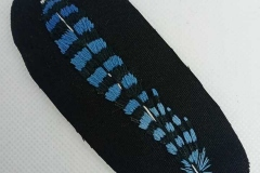 Hand-embroidered-Jay-feather