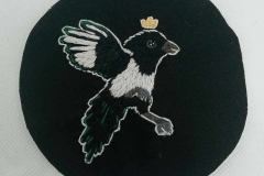 Hand-embroidered-Magpie-patch