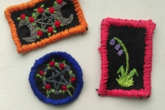Hand-embroidered-patches
