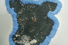 Hand-embroidered-pet-patch-Bella.