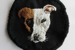 Hand-embroidered-pet-patch-commision