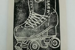 Get-your-skates-on-lino-print.
