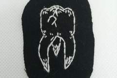 Hand-embroidered-broken-tooth-patch