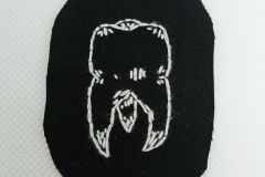 Hand-embroidered-tooth-patch.